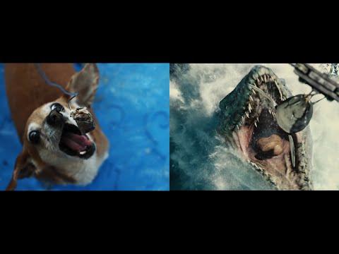 Jurassic Park vs Jurassic Pork (A side by side comparison)