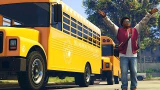 GTA 5 Mods - BACK TO SCHOOL MOD! (GTA 5 PC Mods)