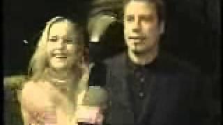 John Travolta, Kelly Preston - Victoria Morton CBS WJZ TV