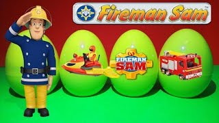 Sam the Fireman Eggs Surprise Toys with Fireman Sam Surprise Juno Jetski