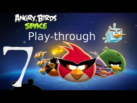 Let s Play Angry Birds Space 07 The Suspiciously Curious Case of the Untidy Waffle Wafer