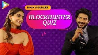 SENSATIONAL: Dulquer & Sonam Take EPIC Quiz On Films Based On Books | The Zoya Factor