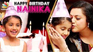 Happy Birthday Theri Baby Nainika ! | Meena Interview & Celebration | Bhaskar oru Rascal