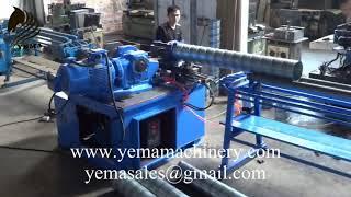 YEMA AUTO HAVC SPIRAL DUCT MACHINE TUBE MAKING MACHINE