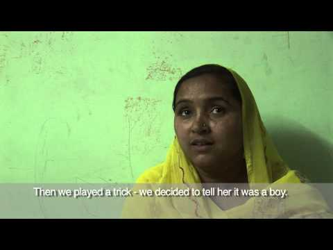 ActionAid reports on the growing problem of sex selection and female foeticide (feticide) in India.