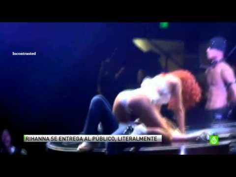Xxx Mp4 Rihanna Seduciendo A Una Fan En Concierto Miami 3gp Sex