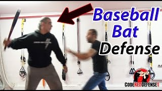 Baseball Bat Defense against a Taller Attacker