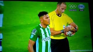 E tem briga no jogo ATL.Nacional 2 X 1 R.Central , Libertadores 19.5.2016