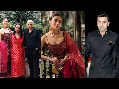 Xxx Mp4 Alia Bhatt Looking Like Princess In Her Engagement With Ranbir Kapoor In Kolkata 😍 3gp Sex