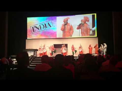 Traditional Indian Dancers, N.I.A. Birmingham | Katrina H-W