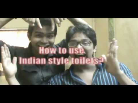 Express Yourself #3 (How to use Indian style toilets)