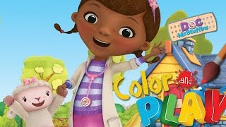 Doc Mcstuffins - Full Episodes of Color and Play Game by Disney (Spring Time) - Walkthrough Gameplay