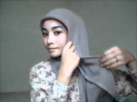 Hijab tutorial 5 Square Scarf 3 Styles jilbab.wmv