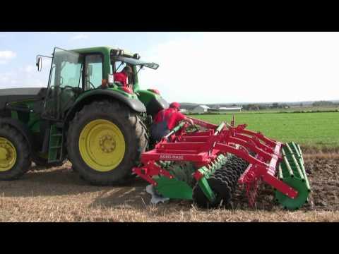 AGRO MASZ Brona Talerzowa BT50 praca w polu