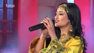 Sameera Nasiry - Bismillah Jana Pashto Eid Special Show Tolo TV 2016