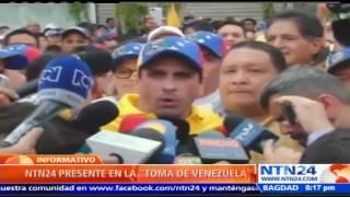 Huelga nacional, destitución de Maduro y marcha a Miraflores anuncia la MUD para los próximos días