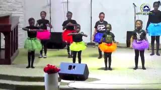 Children's Dance to You Raise Me Up