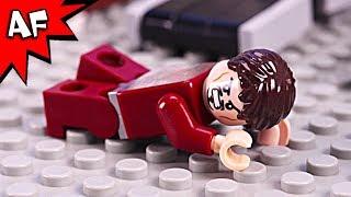 Iron Man Loses Power - Lego Superhero's Bad Day Episode 4 Brick Film
