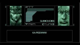 Metal Gear: Codec Moments