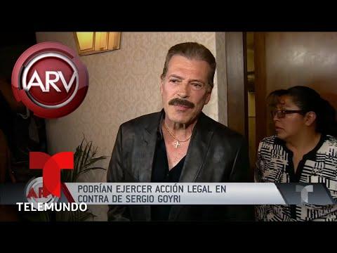 Sergio Goyri podría enfrentar acciones legales por racismo Al Rojo Vivo Telemundo