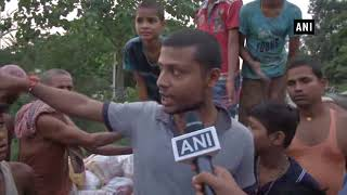 Locals take initiative to protect their village from flood in Bihar's Darbhanga
