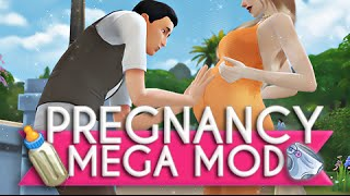 The Sims 4 | Mod Overview | Pregnancy Mega Mod - Have Twins, Triplets.