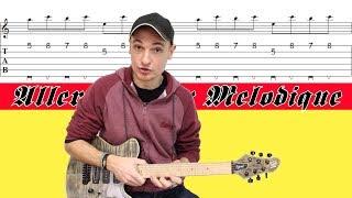 Leçon Aller-Retour ^v^v Motifs RAPIDE & MELODIQUE Guitare TABS+BACKING TRACK