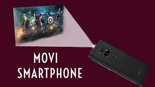 Movi Smartphone India - Projector Mobile Price $599, 4000mAh - CES 2018