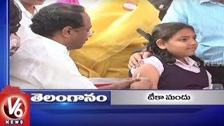 6PM Headlines | MR Vaccination Across State | Double Bedroom Houses | Weather Update | V6 News