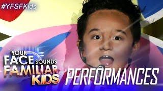 Your Face Sounds Familiar Kids: Alonzo Muhlach as Bayani Agbayani - Otso Otso