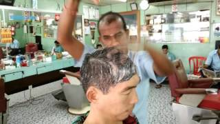 The Amazing Indian Barber Head Massage