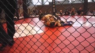 Ondra Vávra KGL - 2. amatérský MMA zápas