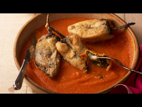 Pati Jinich How to Make Chiles Rellenos