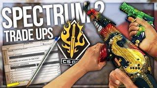 LUCKY SPECTRUM 2 TRADE UPS (NEW CS:GO COLLECTION)
