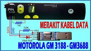 Cara Merakit Sendiri Kabel Data Program Motorola GM3188 GM3688