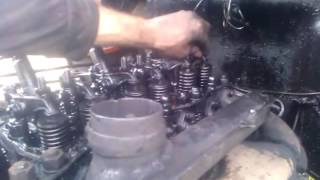 регулировка клапанов на тракторе т40