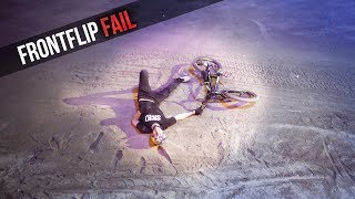 Flat drop Frontflip in front of 8000 people |Sick Series#44