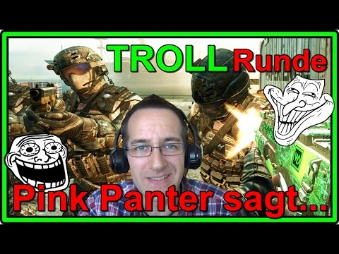 BLACK OPS 2 Pink Panter sagt Comedy Premium TROLL Runde HD