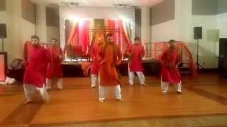 Aniq & Huma Wedding - Best Mehndi Dance Routine 2015