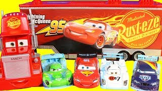 Disney Cars 3 Toy Collection With Micro Drifters Lightning McQueen And Mack Hauler