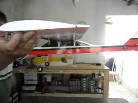 Como encontrar o centro de gravidade CG do aeromodelo Scout