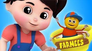 Little Miss Muffet | Kindergarten Nursery Rhymes And Baby Songs | Cartoons by Farmees