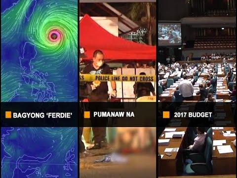 UNTV News & Rescue Hataw Balita Full Episode September 14 2016