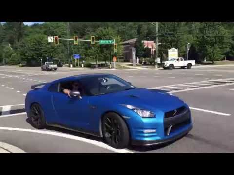 Nissan GTR Hard Acceleration With Stock Exhaust