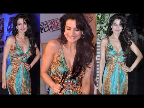 Amisha Patel At Promote Shortcut Romeo her own production house