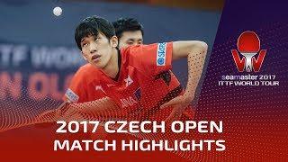 2017 Czech Open Highlights: Tomokazu Harimoto vs Maharu Yoshimura (R16)