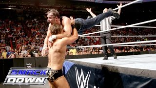 Dean Ambrose vs. The Miz - Champion vs. Champion Match: SmackDown, June 30, 2016