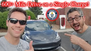 600 Hypermile In Tesla Model 3! World Record LIVE!