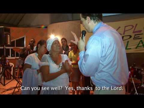 Holy Spirit Miracles and Fire in PANAMA