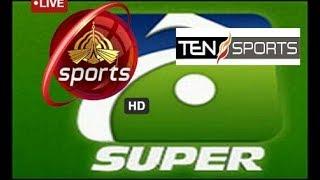 Geo super ptv sports ten sports.  All tv channel